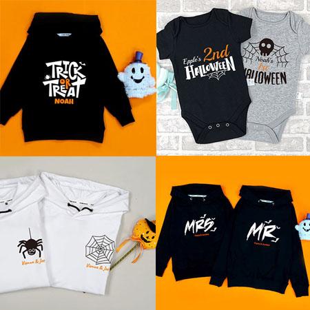 Custom Design Halloween Kids/Toddlers Hoodies/Sweaters